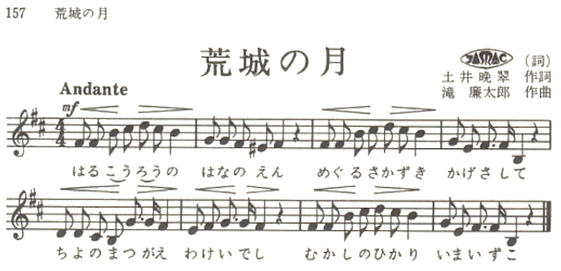 Image of sheet music after removing background