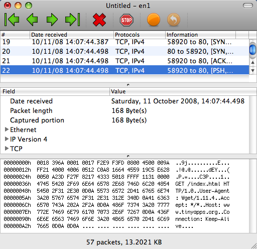 network sniffer for mac os