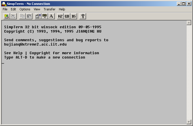 Winsock-Telnet 3270 Free Download - radce