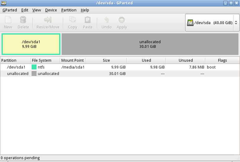how to change virtualbox disk size