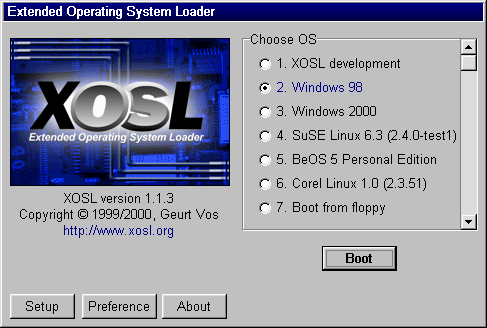 bootmanager freeware